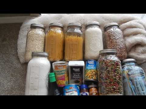 2016 SHTF EMERGENCY FOOD STORAGE BEYOND RICE AND BEANS PREPPER WW3