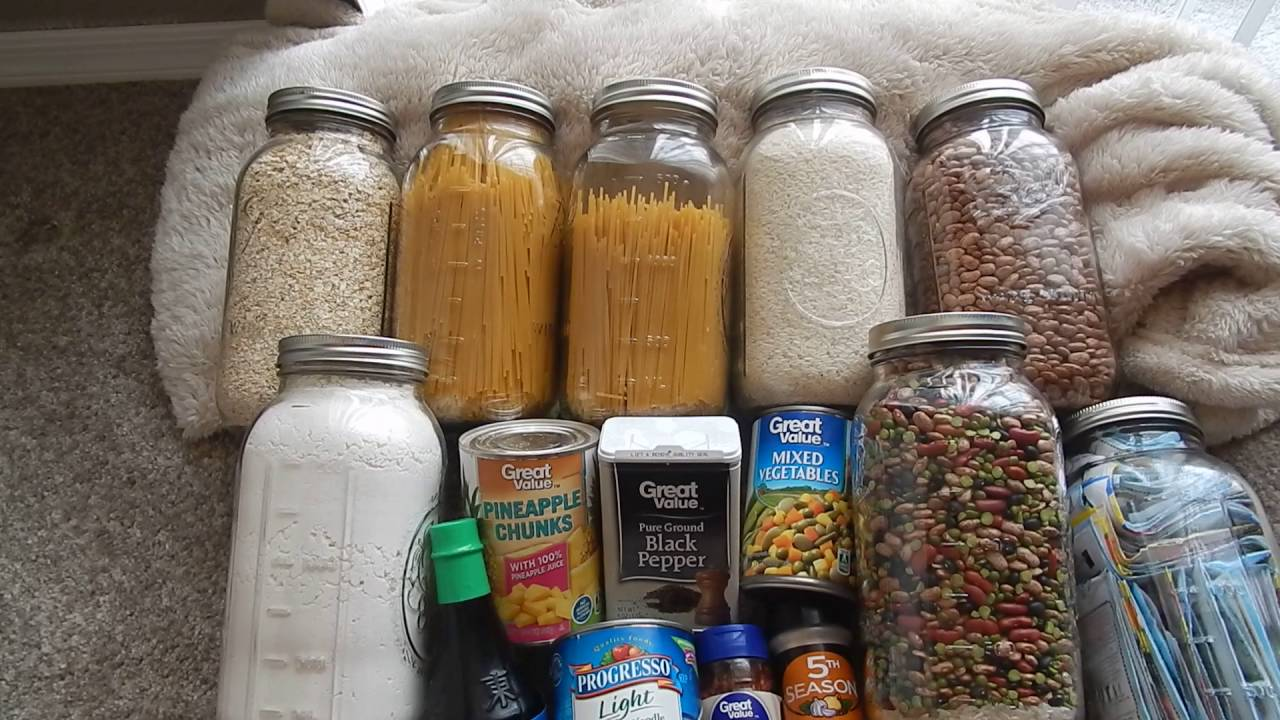2016 Shtf Emergency Food Storage Beyond Rice And Beans