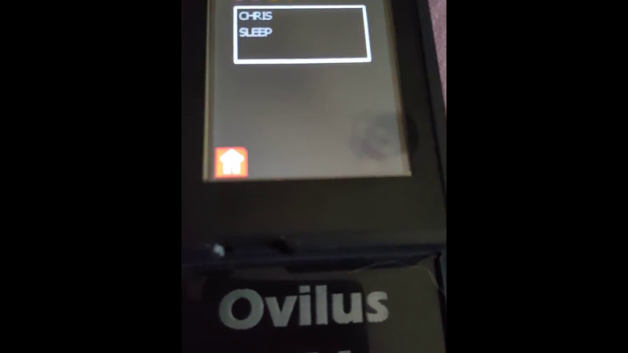 Spirit says my name on ovilus, 4 not 5