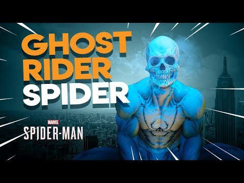 *NEW* Ghost Rider SPIDER suit | Marvel's Spiderman PS4
