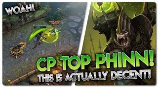 CP PHINN TOP LANE RANKED!? Vainglory 5v5 [Ranked] Gameplay - Phinn |CP| Gameplay