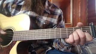 Marty Robbins- The Master's Call Guitar Chords/Tutorial