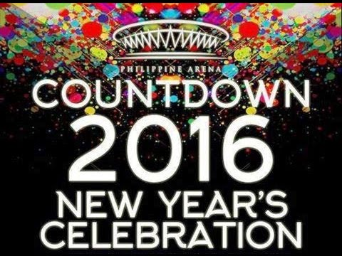 Philippine Arena Countdown 2016 New Years Celebration Jose Manalo Wally Bayola Paulo Ballesteros