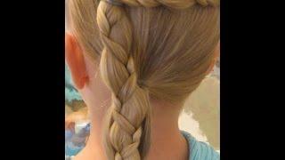 Прическа детская для школы. Прически на длинные волосы.(Прическа детская для школы. Прически на длинные волосы. прически, прически на длинные волосы, прически..., 2014-10-18T23:19:56.000Z)