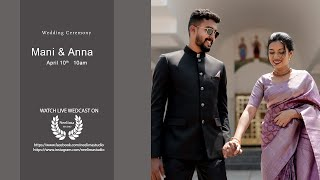 Mani  Anna  Wedding Ceremony  Neelima Studio
