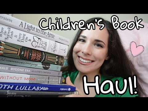 HUGE Beautiful Children's Book Haul !