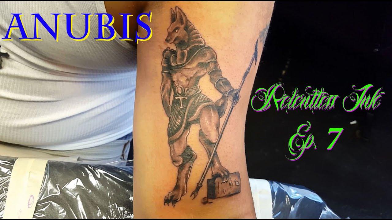Jackal Head Tattoo Anubis Tattoo (...
