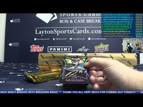 2015 Panini Black Gold Football 8 Box Case Break #72 – RANDOM TEAMS