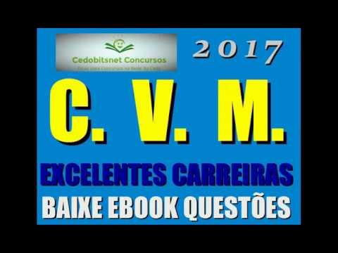 CVM CONCURSO PÚBLICO 2017 MATERIAL GRATUITO QUESTÃO GRUPO APOIO CURSO COMISSÃO VALORES MOBILIÁRIOS
