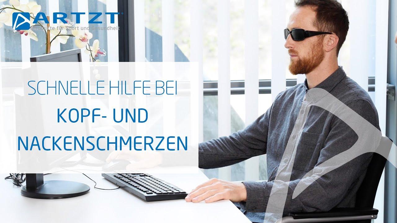 Training im Home Office - Hilfe bei Kopf- und Nackenschmerzen | ARTZT