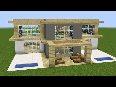 Minecraft - How to build a classic house - YouTube