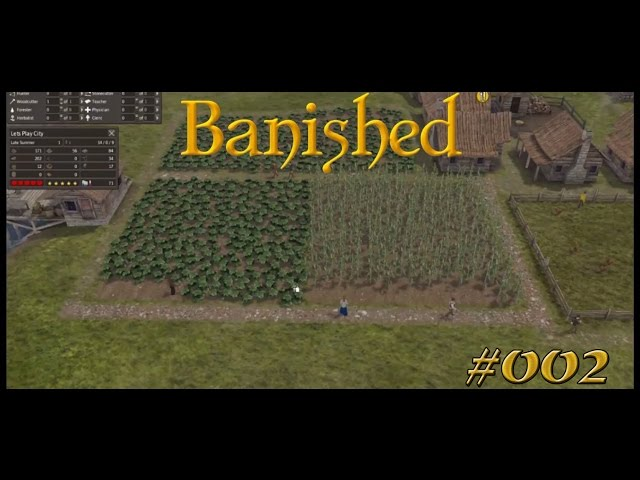 Let's Play Banished | Die erste Ernte | Folge #002