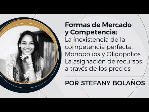 Formas de Mercado y Competencia   Prof: Stefany Bolaños - (4/10)