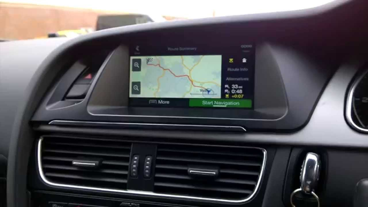 2015 Audi Q5 >> Alpine X701-D Audi Infotainment System for Audi A4/A5 Demo and Features - YouTube