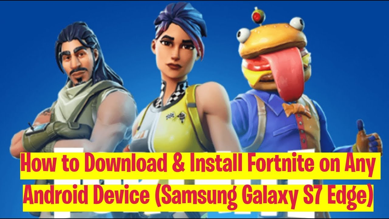 How to Install Fortnite on Android - Android Dumpling