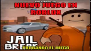 Nueva Juego En Roblox Jailbreak l Probando EL Juego