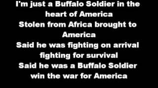 Bob Marley - Buffalo Soldier Lyrics