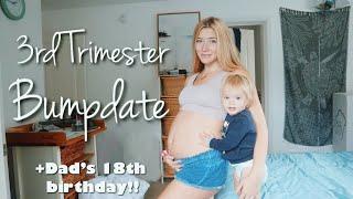 Third Trimester Bumpdate // Teen Mom Vlogs
