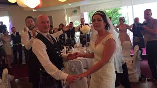 Steven & Laura wedding surprise! Falkirk Scotland