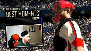 BEST MOMENTS FROM MLB THE SHOW 18 (EP. 1)