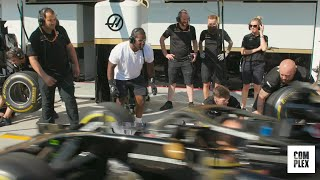A$AP Ferg Joins Haas F1 Team! | The Pit Episode 2 | Complex