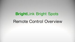 Epson BrightLink Projectors | Remote Control Overview