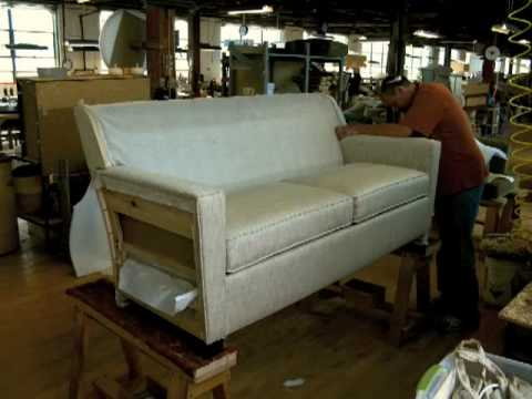 Timelapse Lean Manufacturing At Hallagan Furniture Youtube