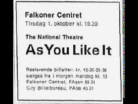 1968-x-1 National Theatre, London: As you like it by Shakespeare reel 160.2 (AUDIO ONLY)