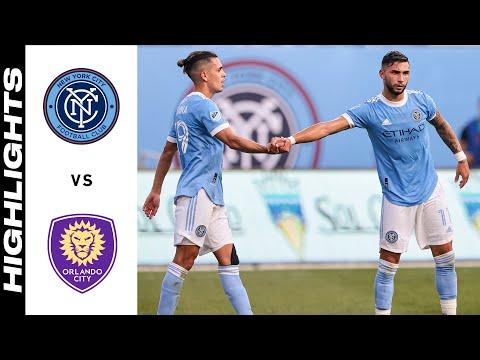 New York City Orlando City Goals And Highlights
