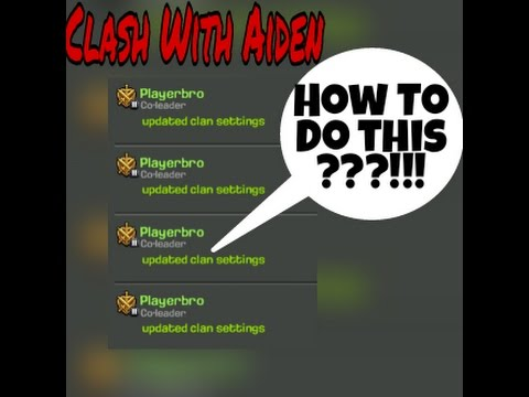 Clash Of Clans :Trick :How To Spam Clan Chat With