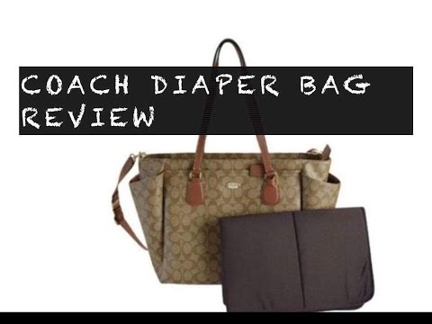 43b280423f04 Coach diaper bag review (coach diaper bag that looks like a purse)  How I  feel about it now