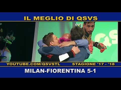 QSVS - I GOL DI MILAN - FIORENTINA 5-1 - TELELOMBARDIA / TOP CALCIO 24
