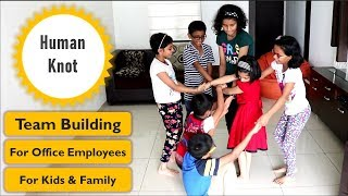 Team building Activity The human Knot   Team building Game for kids and office   Icebreaker