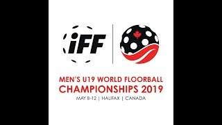 2019 Men's U19 WFC - CZE v SUI (A-Semi)