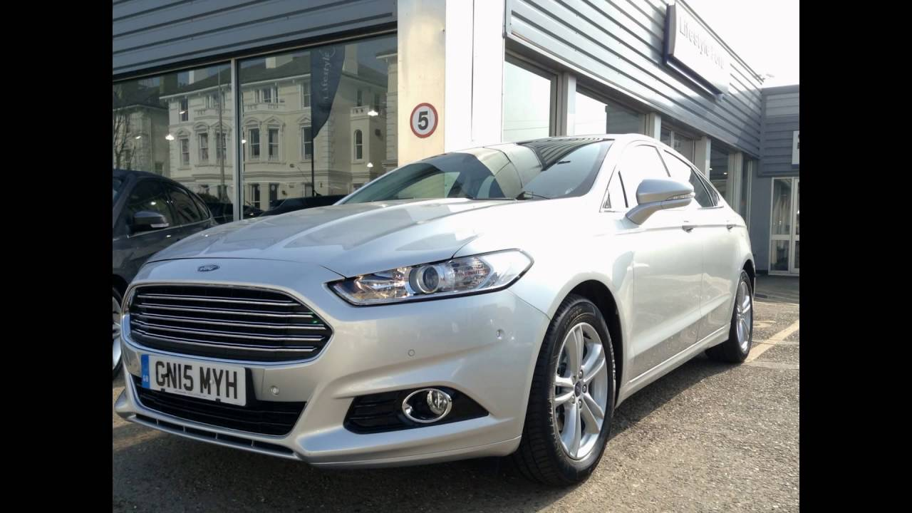 2016 ford mondeo moondust silver youtube. Black Bedroom Furniture Sets. Home Design Ideas