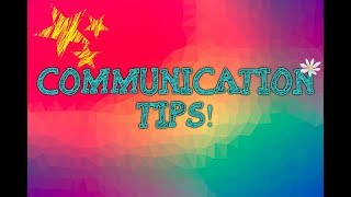 COMMUNICATING WITH YOUR ALTERS   Ways to Improve Communication