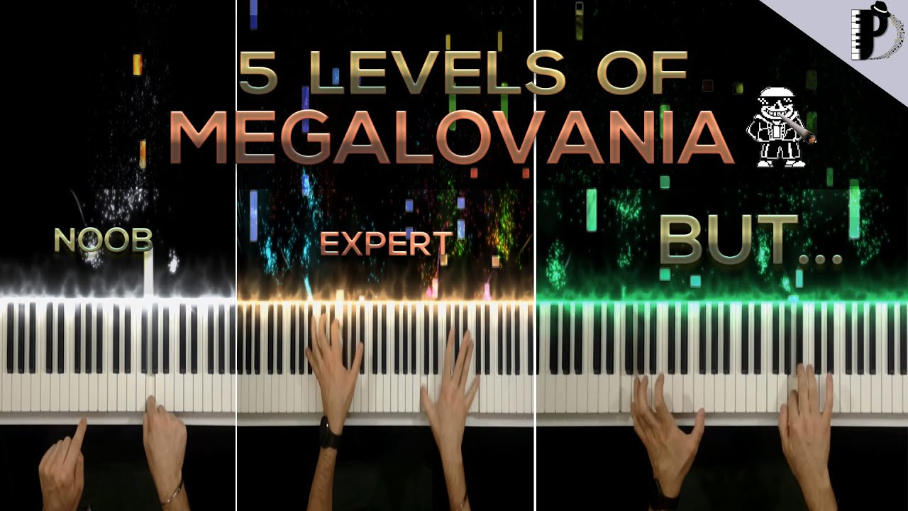 Download 5 Levels Of Megalovania... BUT