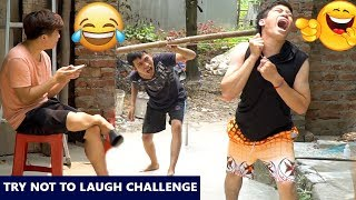 TRY NOT TO LAUGH CHALLENGE | Pull the Rope 😂 Comedy Videos by Sml Troll - Ep.16