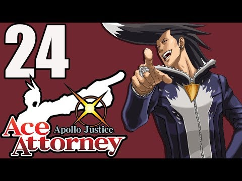 Ace Attorney: Apollo Justice (Blind) -24 - The Smuggler