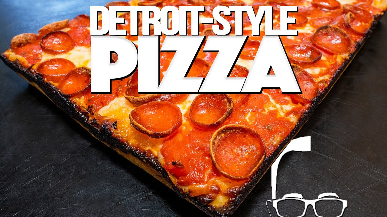 Download HOMEMADE DETROIT STYLE PEPPERONI PIZZA | SAM THE COOKING GUY