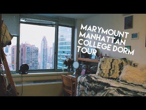 marymount manhattan college dorm tour