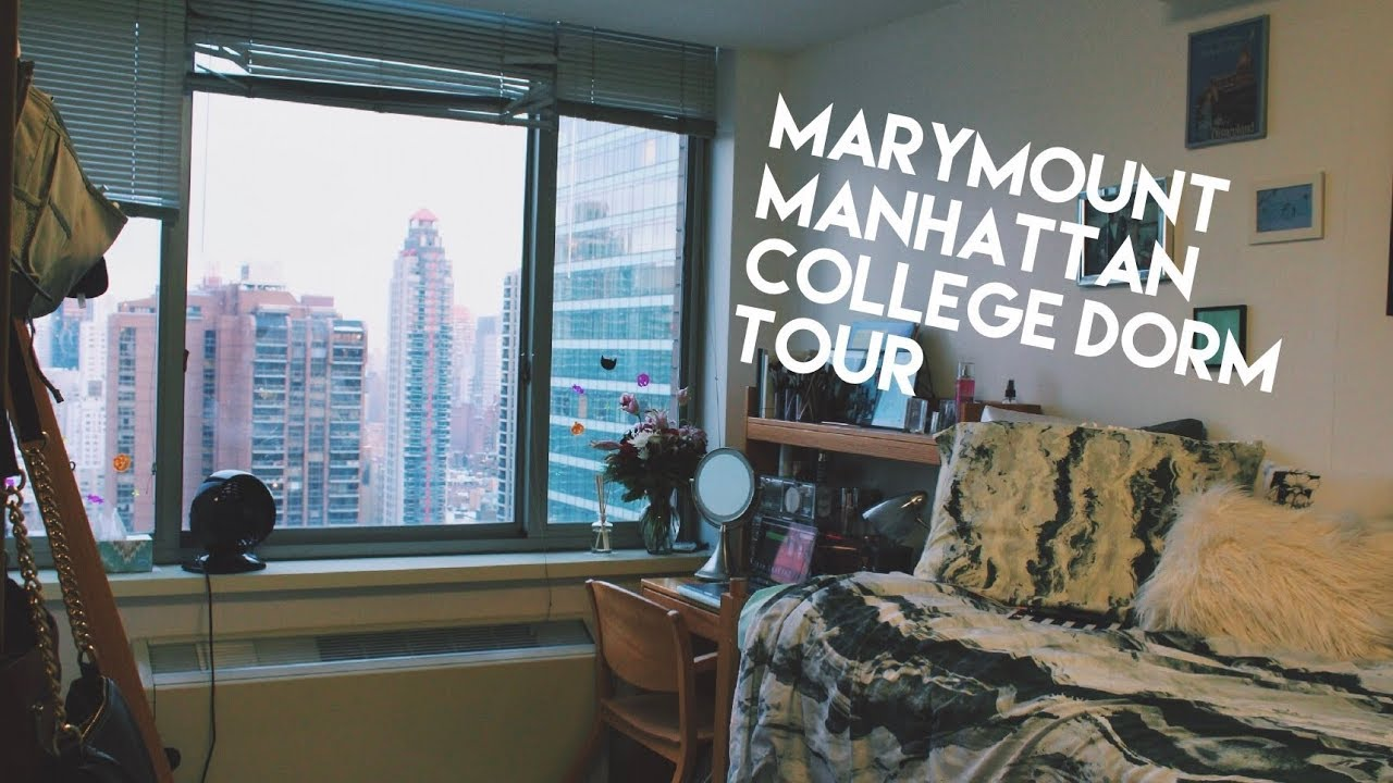 Marymount Manhattan College Dorm Tour Youtube