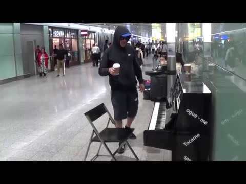 Coffee and Cigarette Dude Plays MEAN Piano