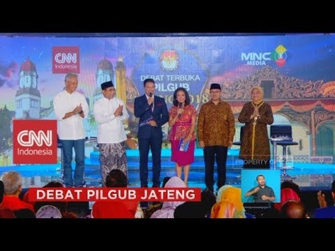 Debat Pilgub Jateng 5/5: Kartu Tani Ganjar Vs Kartu Tani Sudirman Said