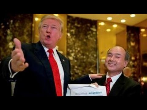 Trump announces $50B SoftBank investment in U.S. jobs
