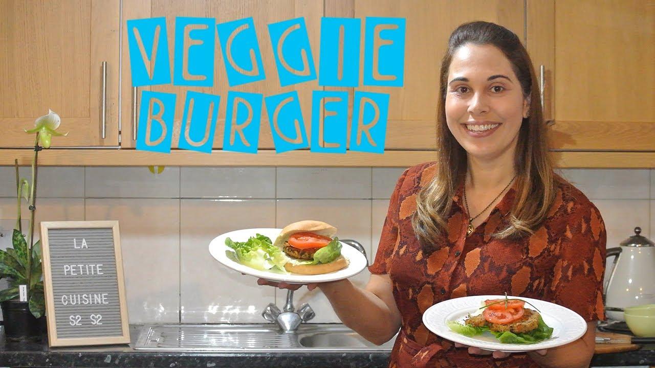 Veggie Burger La Petite Cuisine By Katia Youtube
