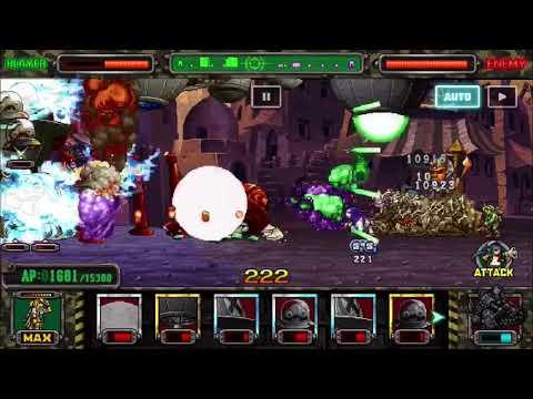 Metal Slug Attack - Alien Technology VS Supernatural