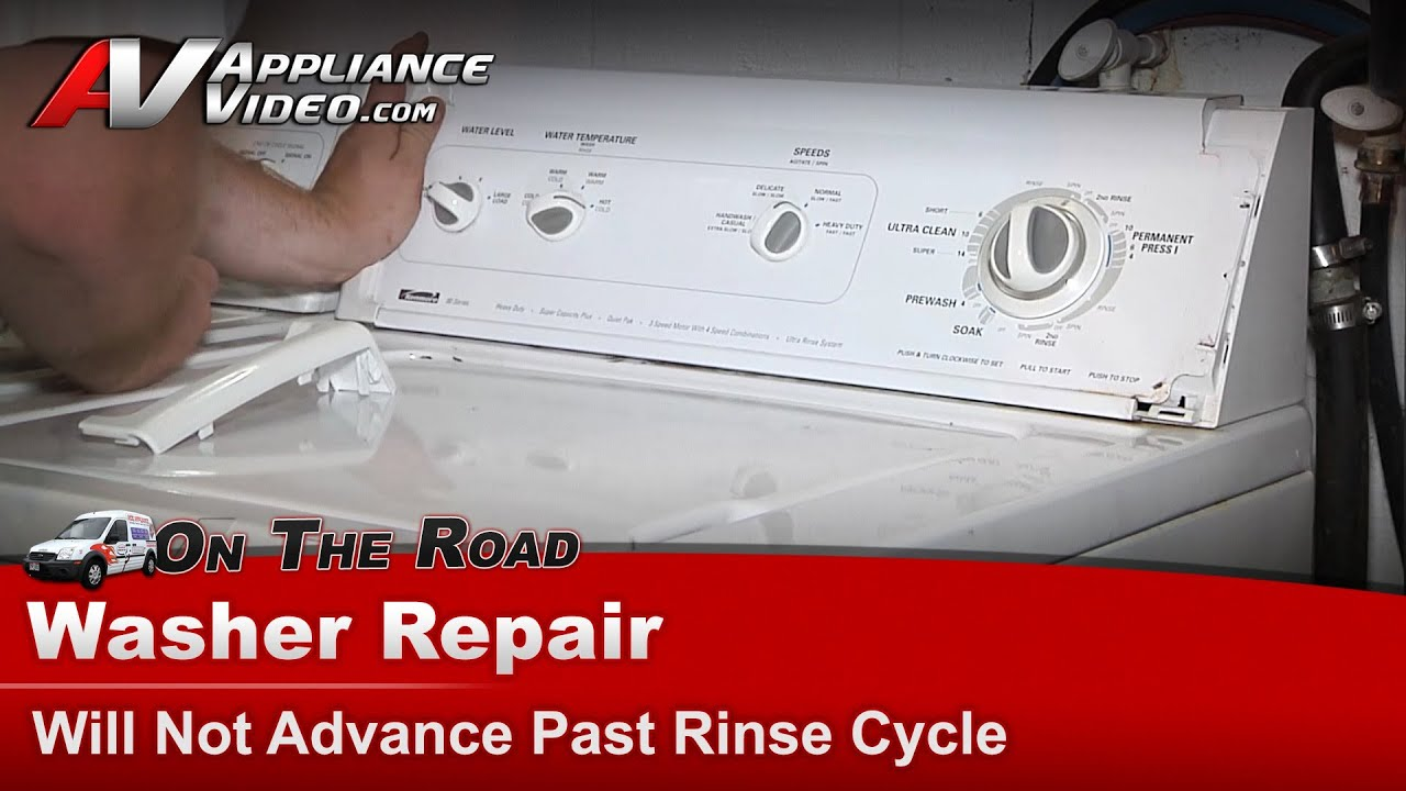 Washer Repair Not Advancing Repair Amp Diagnostic