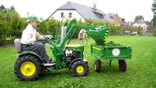 John Deere tractor for children