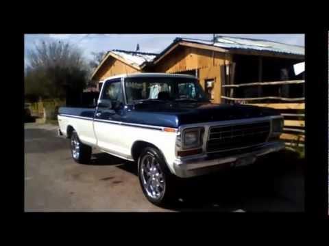 Mi Ford 79 En El Rancho Youtube